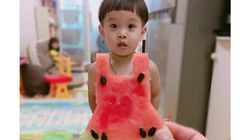 인스타그램에서 유행 중인 '수박 드레스'
