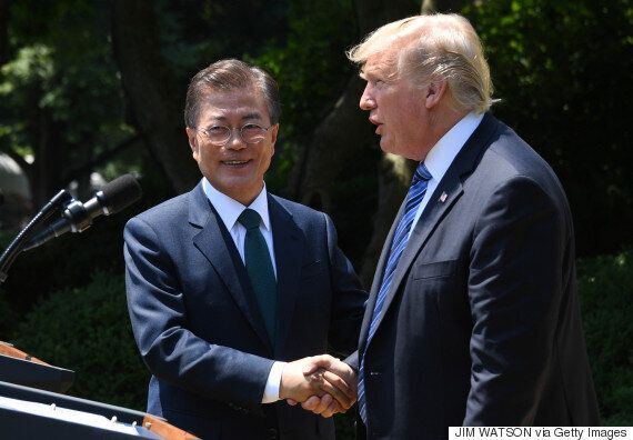 문재인, 트럼프 대통령 공동회견