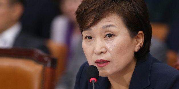 국회가 자유한국당 불참 속에 김현미 국토교통부 장관 후보자 인사청문보고서를