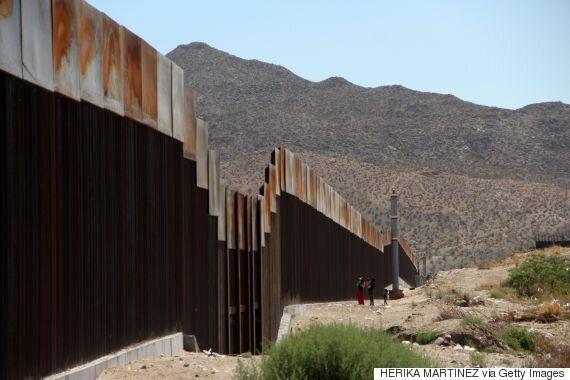미국 정부가 '멕시코장벽' 시제품을 곧 설치할