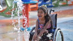 장애인을 위한 워터파크가