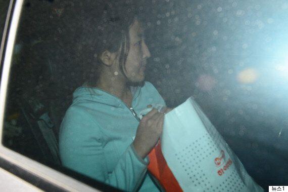 정유라가 집으로 돌아가는 길(사진