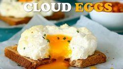 해외에서 지금 한창 인기인 '구름 달걀'