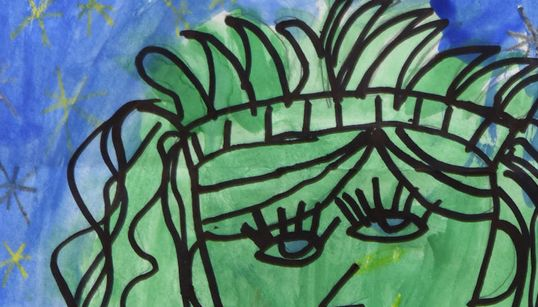 초등학생 그림이 메트로폴리탄 미술관에