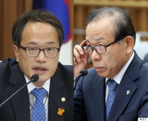 헌재소장 청문회에서 박주민의 자격이 논란이 된