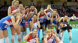 세르비아 여자배구 대표팀의 '동양인 비하'