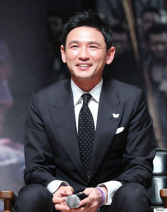 '군함도' 배우 황정민이 춘천 시민에 감사하다고 한