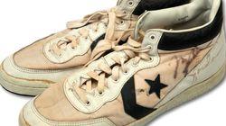 조던의 아마추어 시절 신발이 2억원에