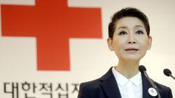 김성주 대한적십자사 회장이 임기를 남기고