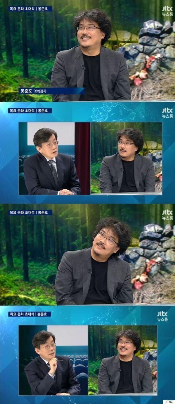 [어저께TV] '뉴스룸' 봉준호 감독, '옥자' 차기작은
