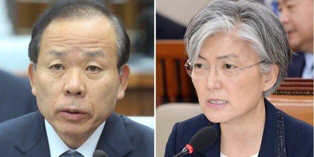 국민의당이 강경화 청문보고서 채택 반대, 김이수·김동연·김상조 채택을