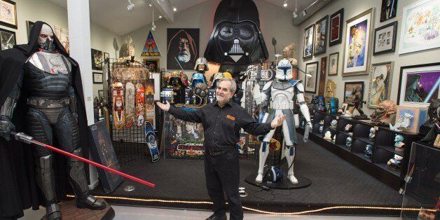 TO GO WITH AFP STORY BY JOCELYN ZABLIT 'ENTERTAINMENT-US-FILM-STARWARS-FANS'Steve Sansweet, owner and...