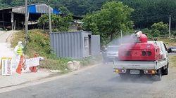 경남 전역에 조류인플루엔자가 확산되고