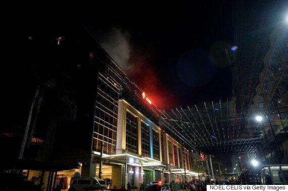 IS가 필리핀 마닐라 호텔 총격사건의 배후로