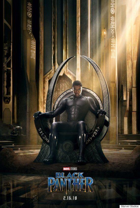영화 '블랙 팬서'의 예고편과 포스터가 최초