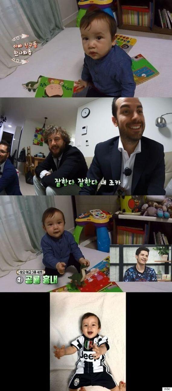 '한국은 처음이지' 알베르토 몬디, 아들 레오 최초