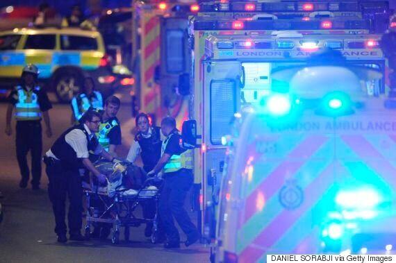 런던서 동시다발 테러...최소 7명 사망