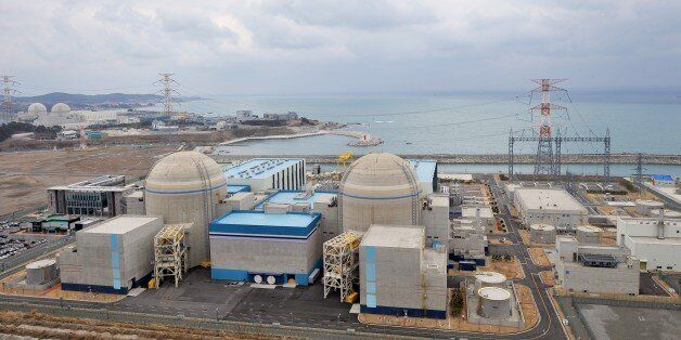 TO GO WITH 'SKorea-nuclear-energy,FOCUS' by Lim Chang-WonThis photo taken on February 5, 2013 shows South...