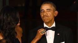 미셸 오바마가 폭로한 오바마 턱시도의