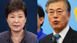 문대통령 취임 1개월을 박근혜 전 대통령의 30개월과