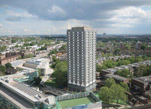 런던 아파트 화재는 임대주택 제도의