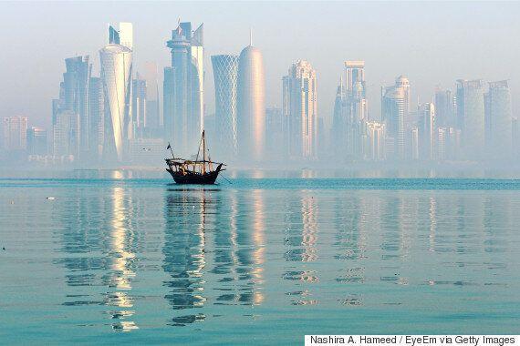 트럼프가 카타르 국왕과 전화하며 갑자기 또 '중동화합'을