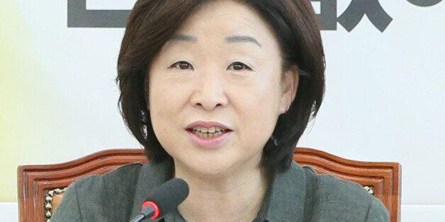 심상정 정의당 상임대표가 '차기 당대표 불출마' 선언한