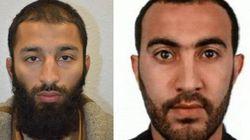 영국 경찰이 테러범 2명의 신원을