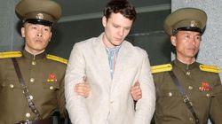 북한에서 식물인간으로 돌아온 웜비어의 평양 룸메이트가 입을