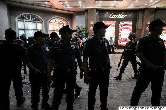 마닐라 카지노호텔에서 총격·방화 사건이