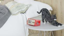 고양이를 조립할 수 있는 블럭 장난감