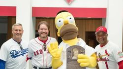 호머 심슨이 미국 야구 명예의 전당에