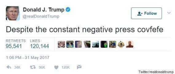숀 스파이서는 트럼프도 모르는 'covfefe'의 뜻을 알고