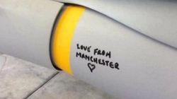 맨체스터 테러 이후 영국 공군이 폭탄에 적은
