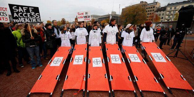 의료 시설에 대한 공격을 중단하라 | G20 보건장관회의에 보내는 공개