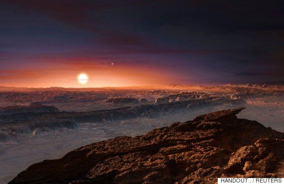 과학계, 4광년 거리밖에 안 되는 '둘째 지구' Proxima B에 생명이 존재할 수도