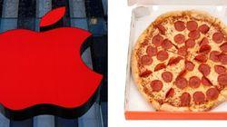 피자 애호가를 위한 애플의