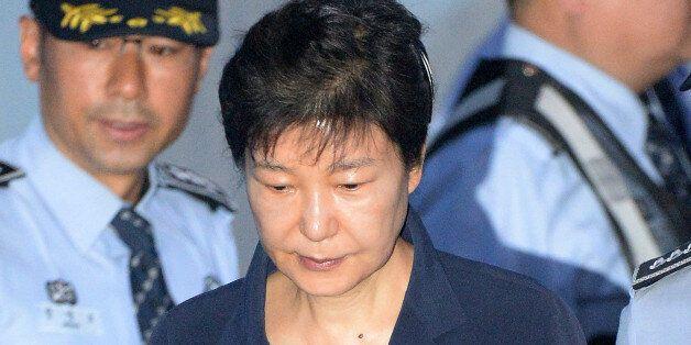 재판장이 국민참여재판을 원하냐고 묻자, 박근혜는