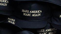 이 모자는 트럼프로부터 영감을 받아