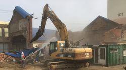 인천 중구청이 근대건축물을 기습