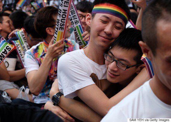 대만 헌법재판소가 동성결혼 금지는 위헌이라고 결론