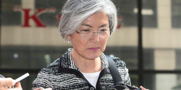 강경화 후보자가 위장전입 거짓해명 논란에 입장을