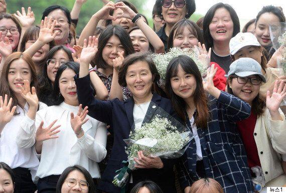 이화여대 최초 직선제로 선출된 김혜숙 총장이