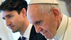 트뤼도가 교황에 '인권유린' 과거 사과를