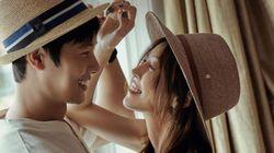 김소연 이상우 커플이 로맨틱한 웨딩 사진을