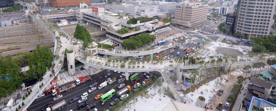 서울로7017: '살아있는 식물도감'이 1024m