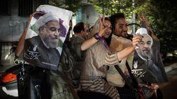 로하니 이란 대통령이 연임에