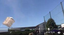 일본의 한 초등학교에서 일어난 돌풍의