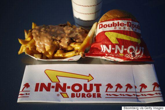 미국에서 가장 인기 있는 버거 체인 10곳의 순위가