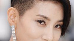김서형이 칸영화제서 파격적인 의상을 입은